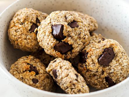 cookies avoine banane chocolat