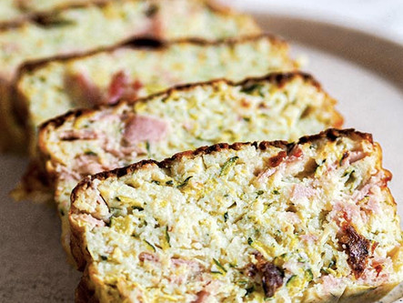 Cake courgette jambon emmental