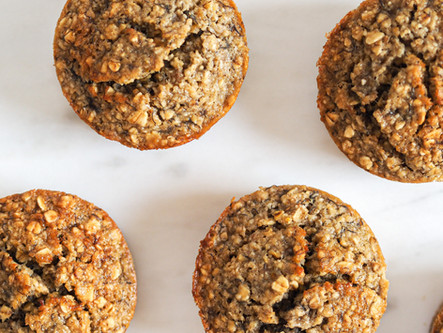 Muffins moelleux avoine banane