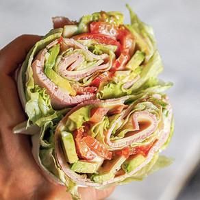 Ranch wrap lettuce
