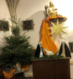 Crèche église de Buxy