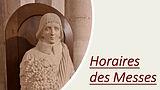 Vignette Horaires des Messes St vincent