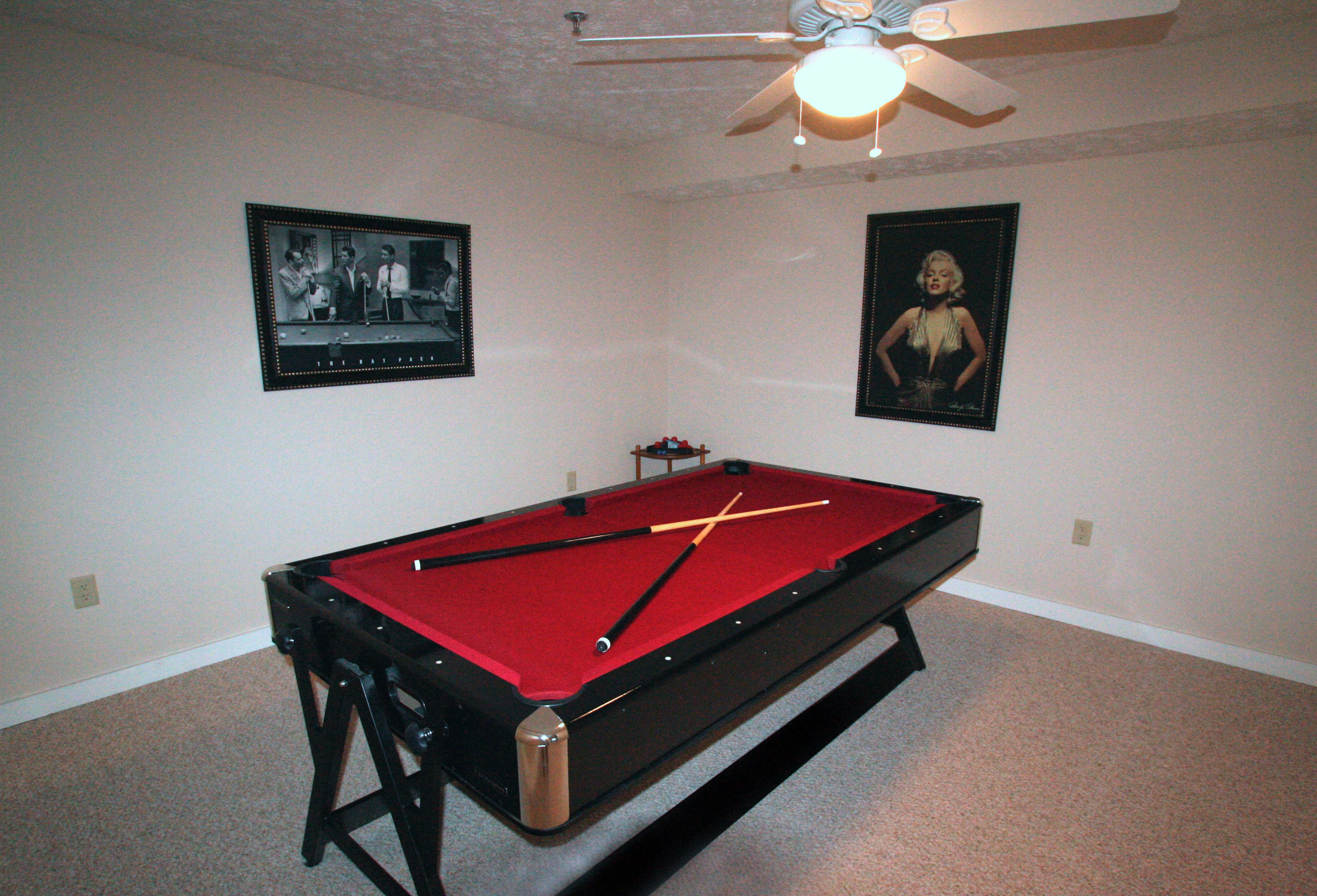 SUNSET Pool Table