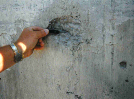 Concrete Expert Witness: Weathering Assessment of Recently Constructed Slip Formed Silo