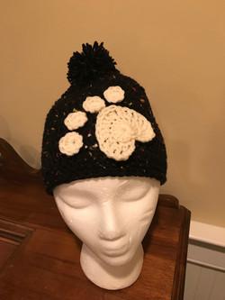 Paw Hat, Black