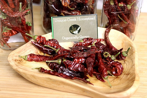 Whole Cayenne Chili Peppers - Gourmet Dried Peppers