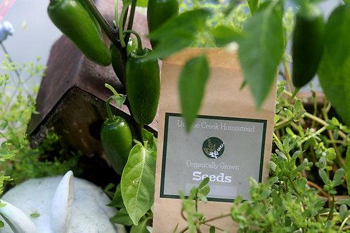 Jalapeno Pepper Organic Seeds
