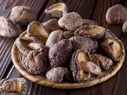 Organic Dried Gourmet Shiitake Mushrooms