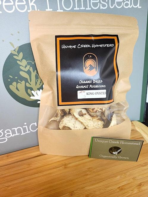 Organic Dried Gourmet KING Oyster Mushrooms
