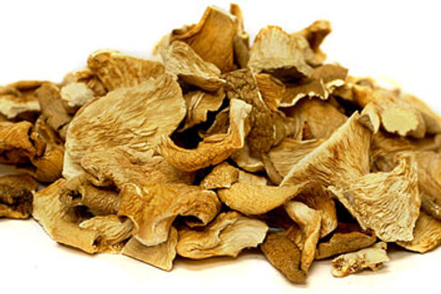 Organic Dried Gourmet Golden Oyster Mushrooms