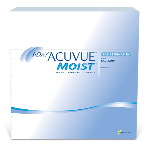 1 Day Moist for Astigmatism (90) Pack