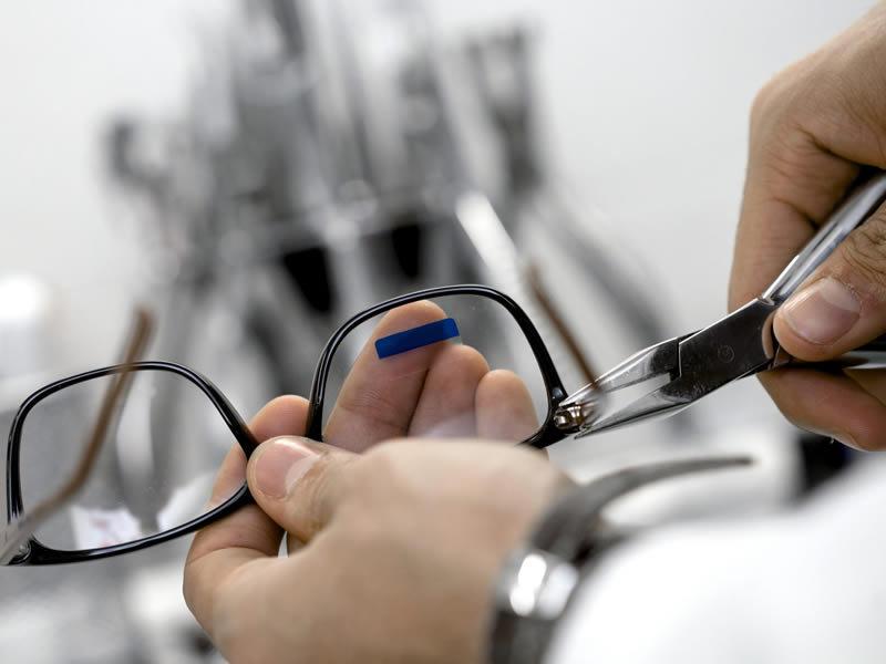 Eyeglasses Repair & Adjustment