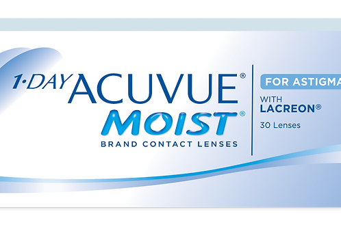 1 Day Moist for Astigmatism (30) Pack