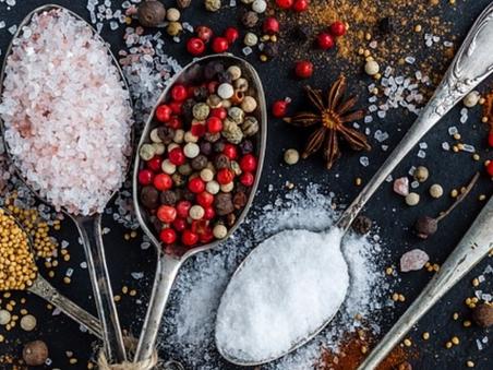 Salt, sodium and potassium