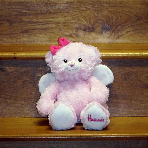 Harrods Pink Angel Bear