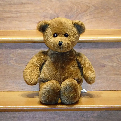 Harrods Bear with Big Brown Eyes
