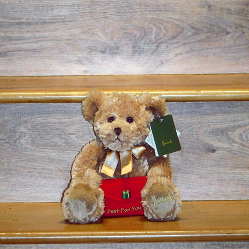 Harrods Recordable Bear with Message Envelope