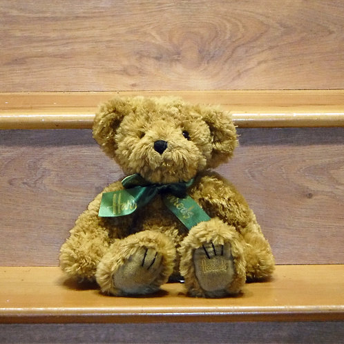 Harrods Bear with beans to help sitting