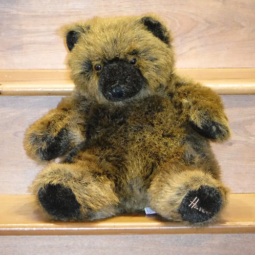 Harrods Grizzly Christmas Bear 1992