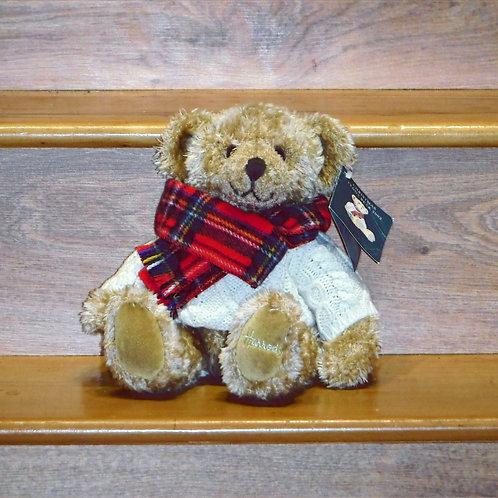 2002 Harrods Christmas Bear - Giles