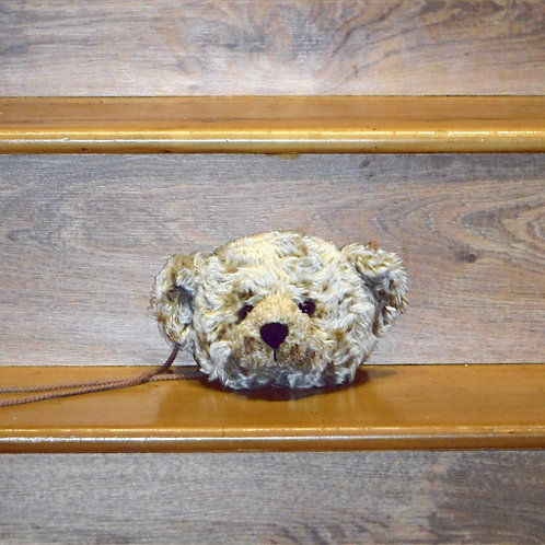 Harrods Bear Head Bag/Purse