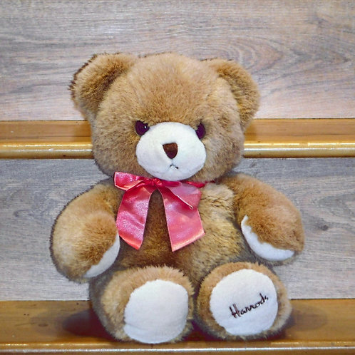 1991 Harrods Christmas Bear