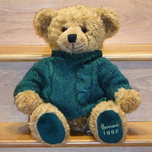 1998 Harrods Christmas Bear - HAMISH