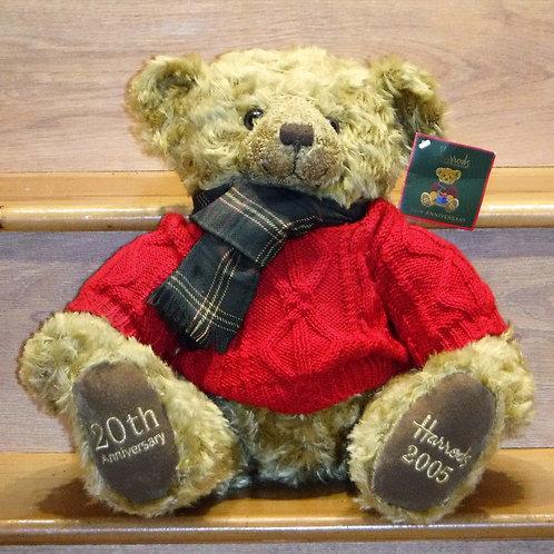 2005 Harrods Christmas Bear - NICOLAS