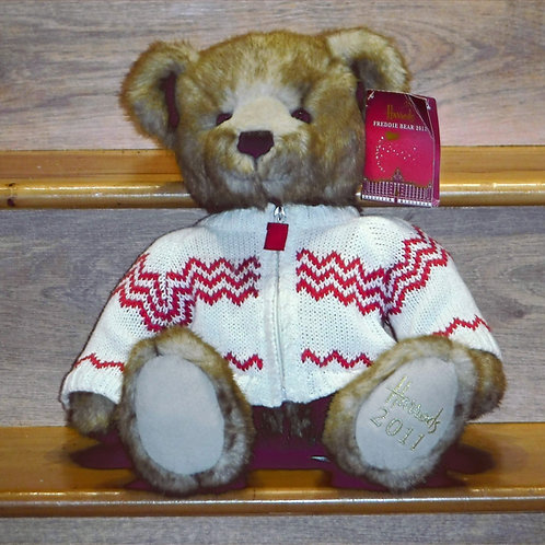 2011 Harrods Christmas Bear - FREDDIE
