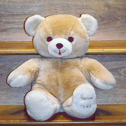 1988 Harrods Christmas Bear - Eddie