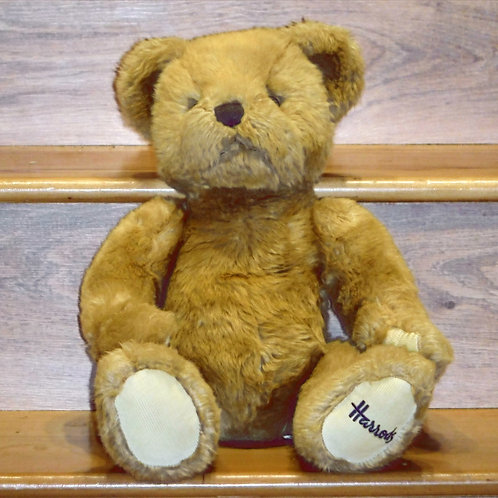 Harrods Bear - light brown with white paws