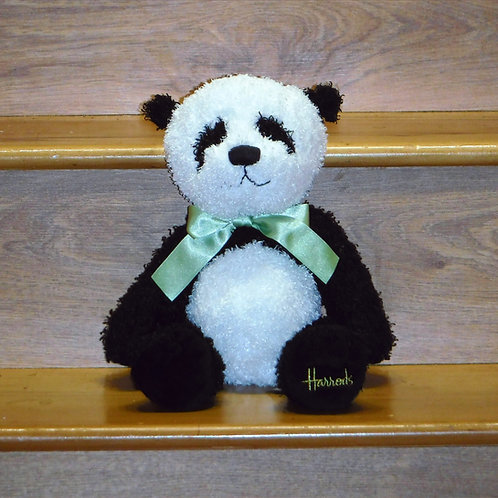 Harrods Curly Haired Panda Bear