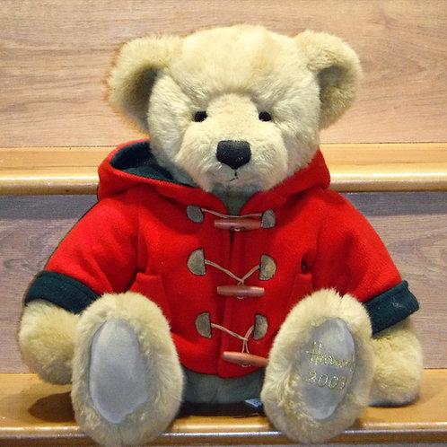 2003 Harrods Christmas Bear - WILLIAM