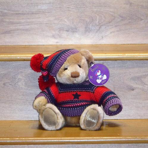 2004 Harrods Christmas Bear - THOMAS