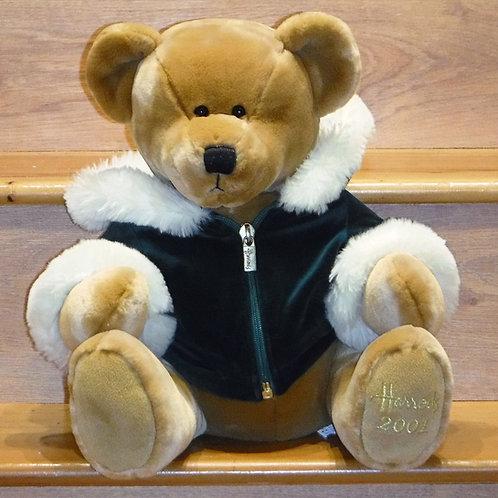 2001 Harrods Christmas Bear -SCOTT