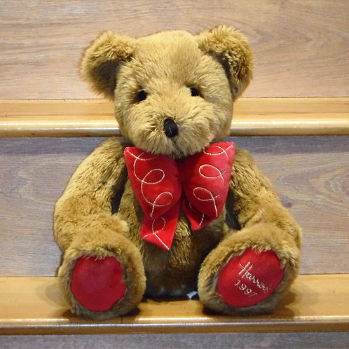 1997 Harrods Christmas Bear - Humphrey