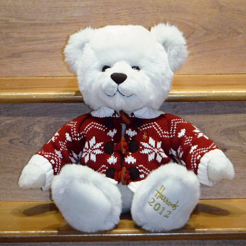 2012 Harrods Christmas Bear - CHESTER