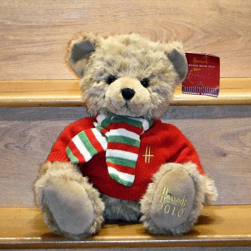 2010 Harrods Christmas Bear - ARCHIE