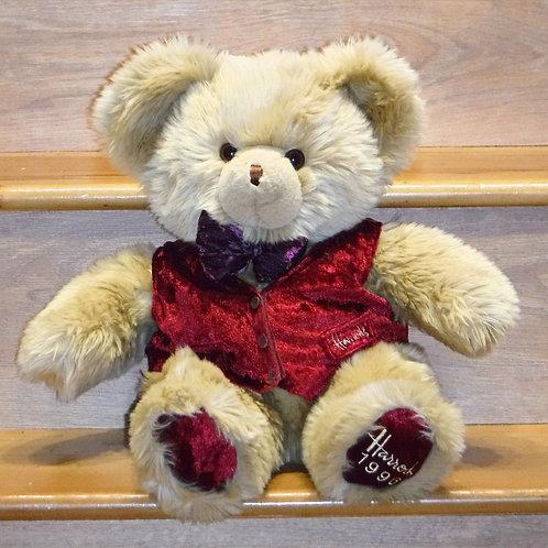 1996 Harrods Christmas Bear -Barnes