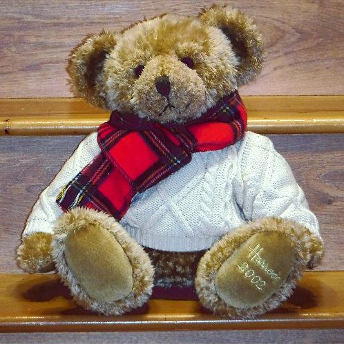 2002 Harrods Christmas Bear -GILES