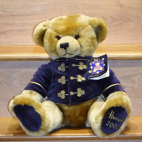 2000 Harrods Christmas Bear - MERLIN