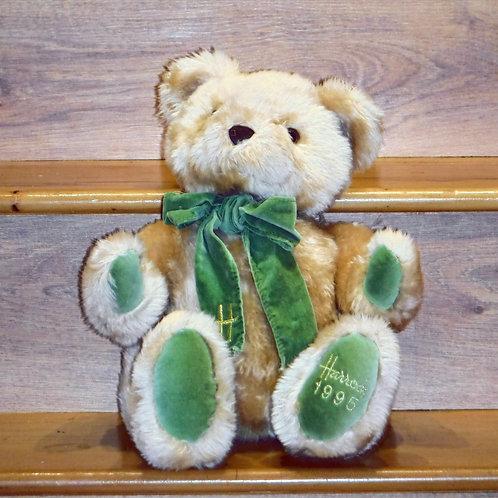 1995 Harrods Christmas Bear -ANDREW