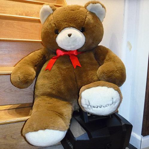 1991 Harrods Christmas Bear  - Peggy