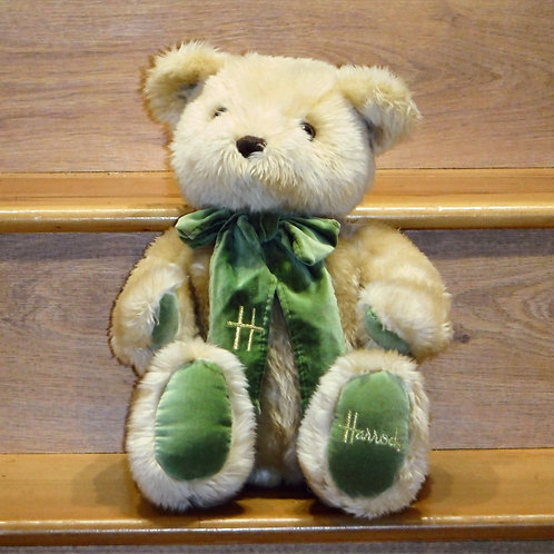 1995 Harrods Christmas Bear - ANDREW No Foot Date