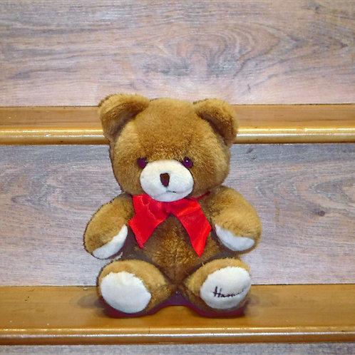 1991 Medium Christmas Bear - PEGGY