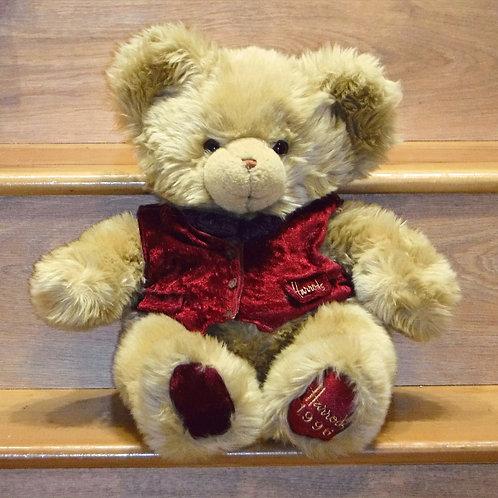 Harrods Christmas Bear 1996 - Barnes