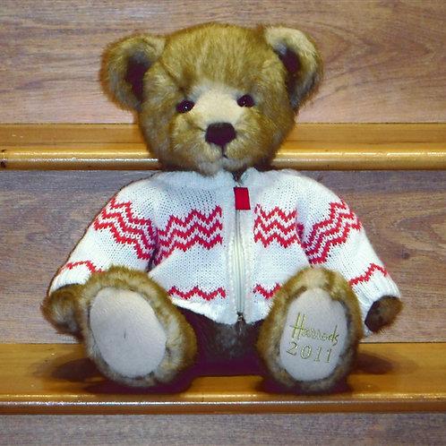 2011 Harrods Christmas Bear -FREDDIE