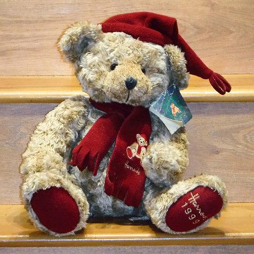 1999 Harrods Christmas Bear - James