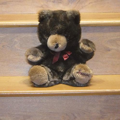Harrods Christmas Bear 1990 Puppet
