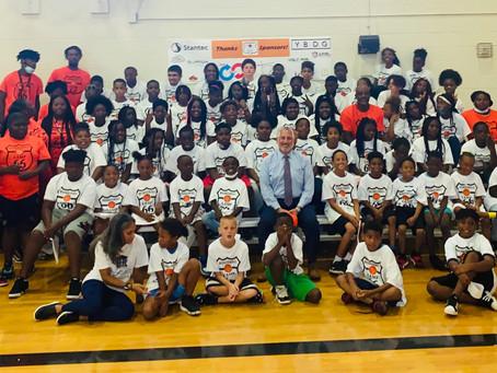 Sponsorship Opportunity for Free Basketball Camp 66